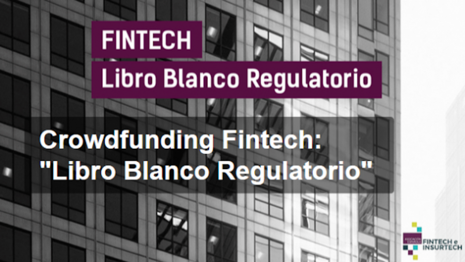 Crowdfunding Fintech, Libro Blanco Regulatorio